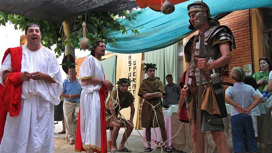 Santibáñez de Vidriales organiza un día de astures y romanos