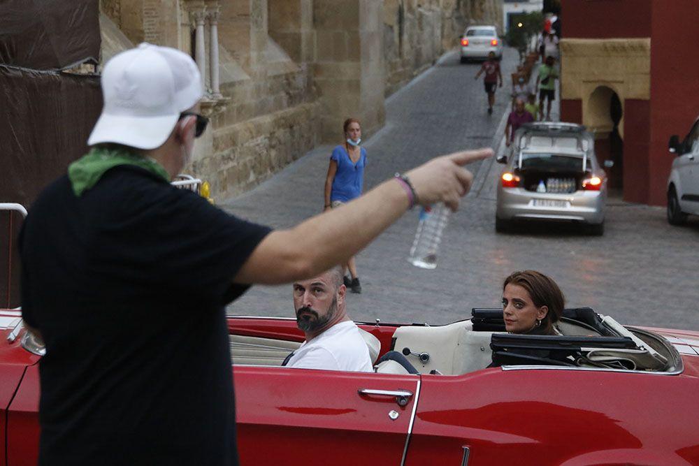 Macarena Gómez rueda en Córdoba