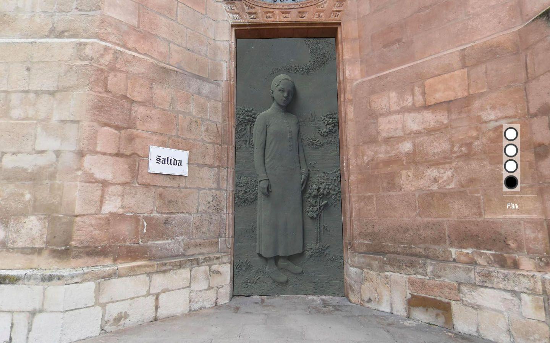 Así podrían ser las nuevas puertas de la Catedral de Burgos