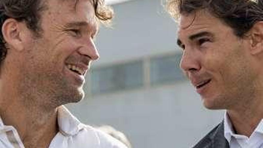 """Moyá: """"Rafa está con la adrenalina de jugar contra Federer"""""""