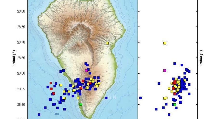 El enjambre sísmico de La Palma supera los 600 terremotos