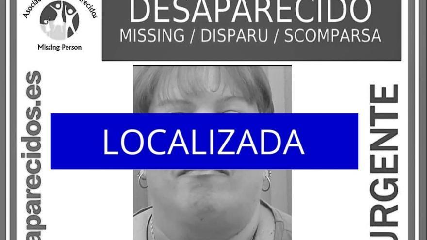 Localizada la mujer desaparecida el martes en Tenerife