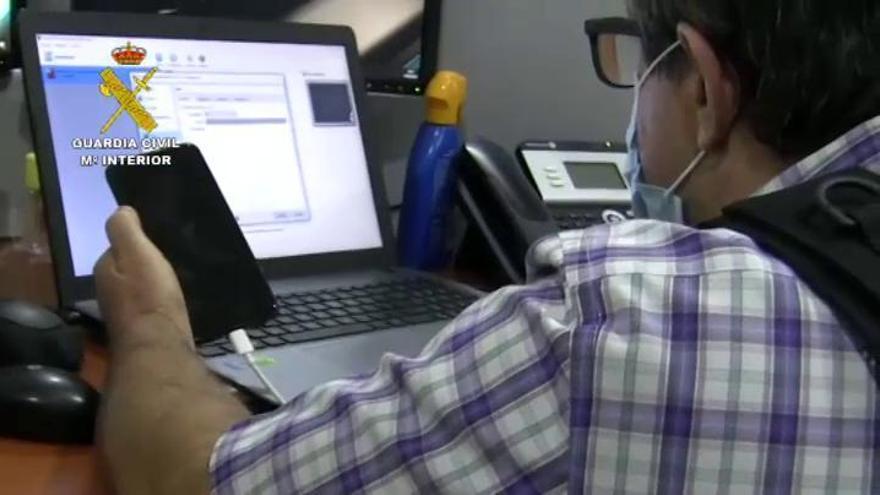 Cae en Granada una red de ciberdelincuentes liderada por dos menores