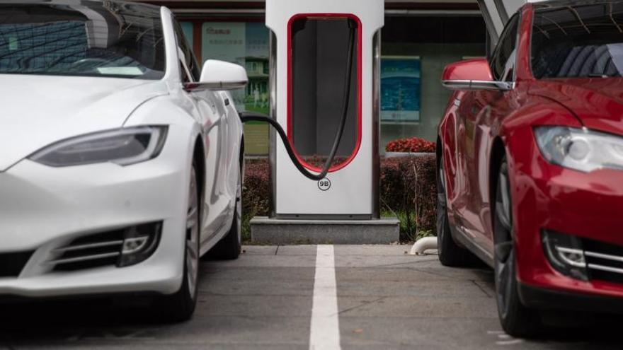El uso del coche eléctrico es aún minoritario.