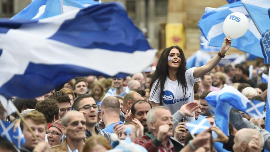 La independencia de Escocia alcanza su récord de apoyo