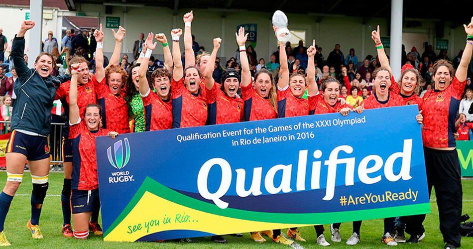 Equipo femenino de Rugby