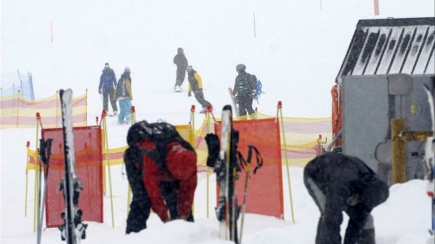 Fin de la campaña de esquí en San Isidro