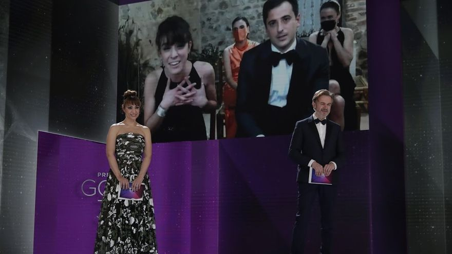 Marina Parés: «Espero que los tres Goya de 'Ane' nos faciliten sacar adelante más proyectos»