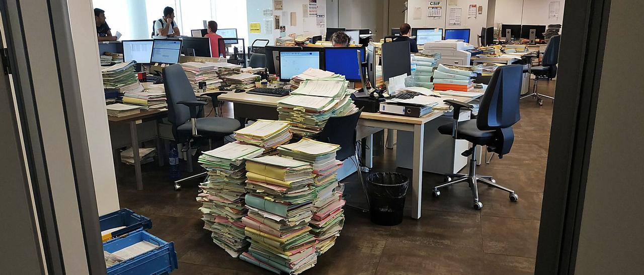 La Audiencia Provincial de Elche, que ha logrado reducir el número de asuntos en los últimos meses. | M. A.