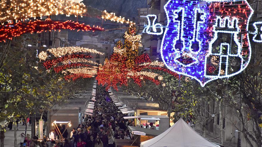 Así se celebra la Feria de Navidad de Xixona este año: En formato virtual y con 40 expositores