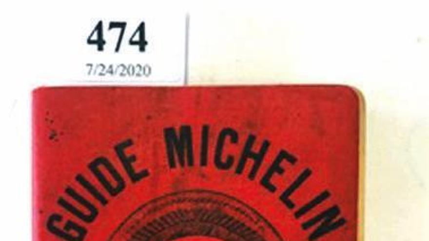 Nuevo récord de precio más alto pagado por un ejemplar de la Guía Michelin