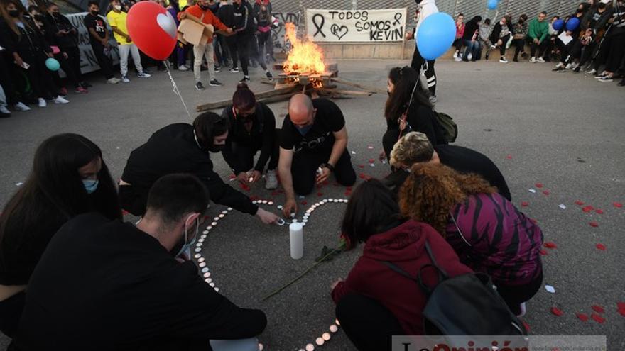 Homenaje a Kevin, el joven asesinado en una reyerta en Jumilla