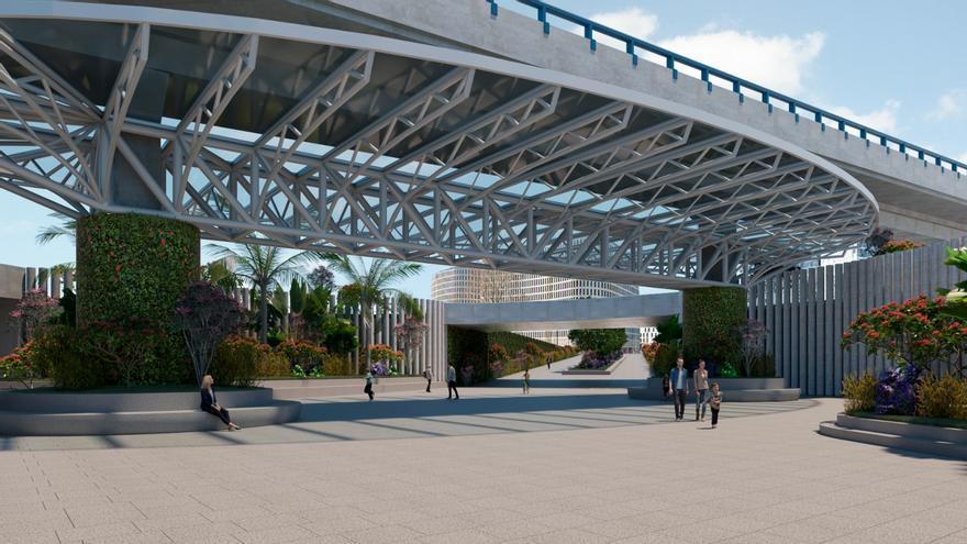 Una pasarela peatonal desde Teixugueiras hará más accesible Navia en dos años