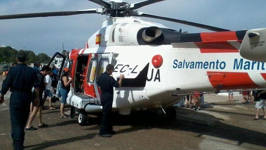 Salvamento Marítimo insiste en llevarse a Mallorca el helicóptero aislando a Castellón