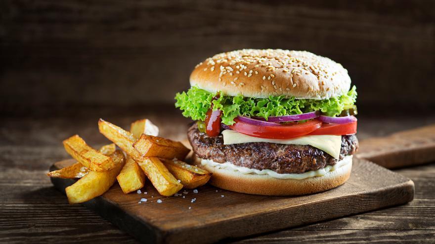 La hamburguesa se sacude el estigma de comida basura