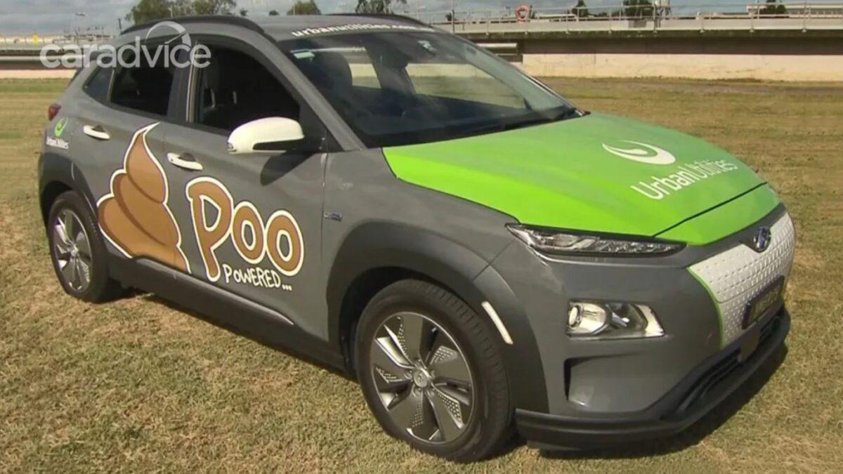 ¿Excrementos humanos para mover un coche eléctrico? En Australia ya funciona