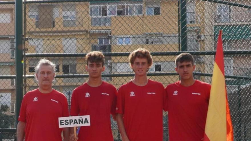 España sigue viva y Estonia completa el cuadro de la Copa Davis Júnior