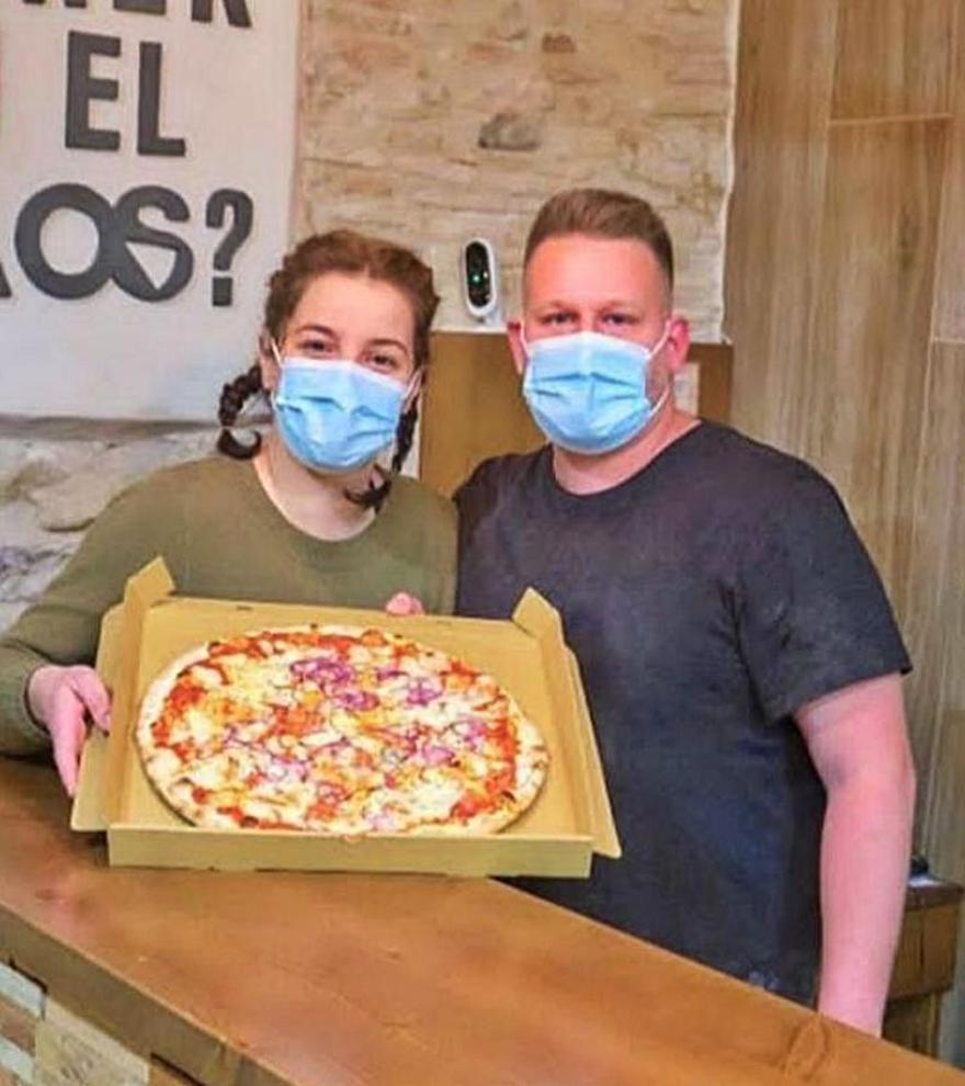Pizzes d'autor i de temporada a  Kaos Pizza&Go