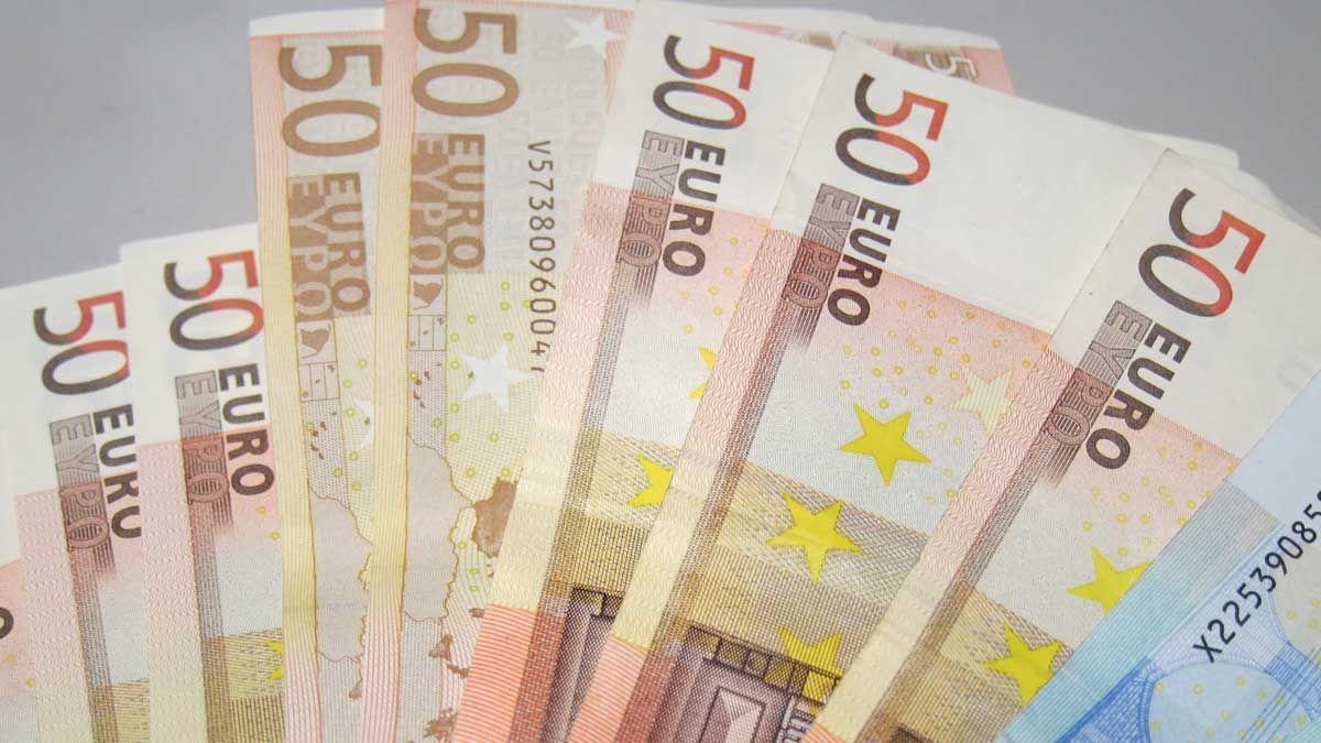 Una imatge d'arxiu de bitllets de 50 euros