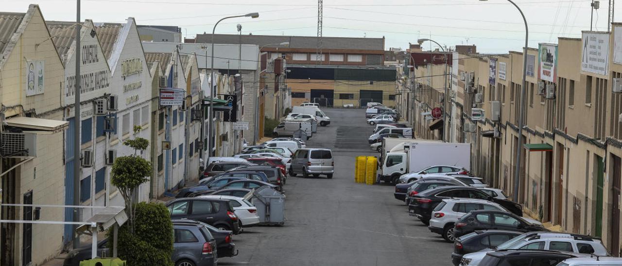 El polígono industrial de Carrús, en Elche.