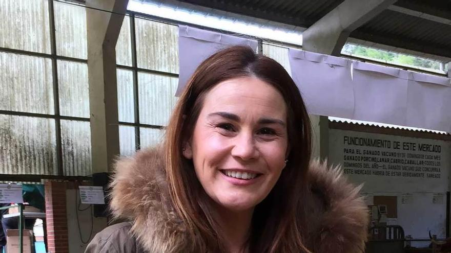 Vanesa González, candidata a presidir la ejecutiva del PSOE cangués