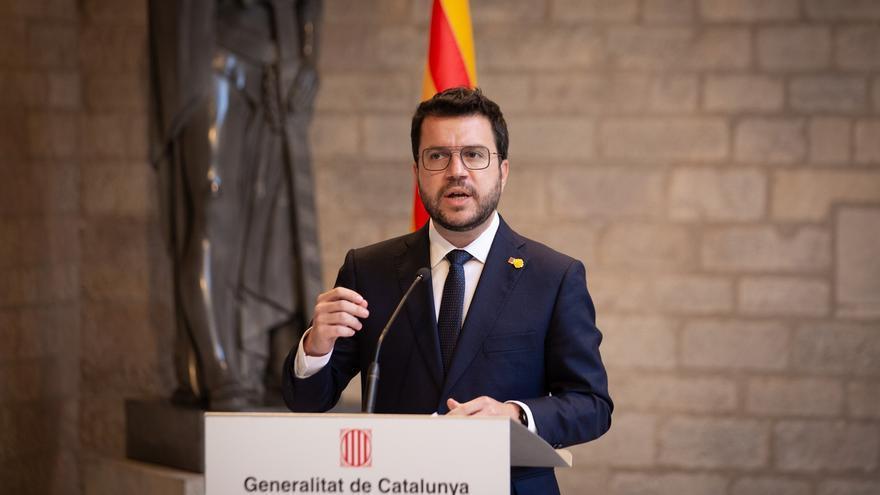 """Pere Aragonés: """"Iremos con toda la claridad para defender el referéndum, la autodeterminación y la amnistía"""""""