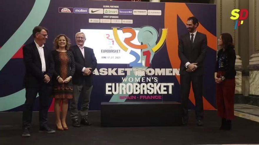 València descubre la imagen del Eurobasket 2021