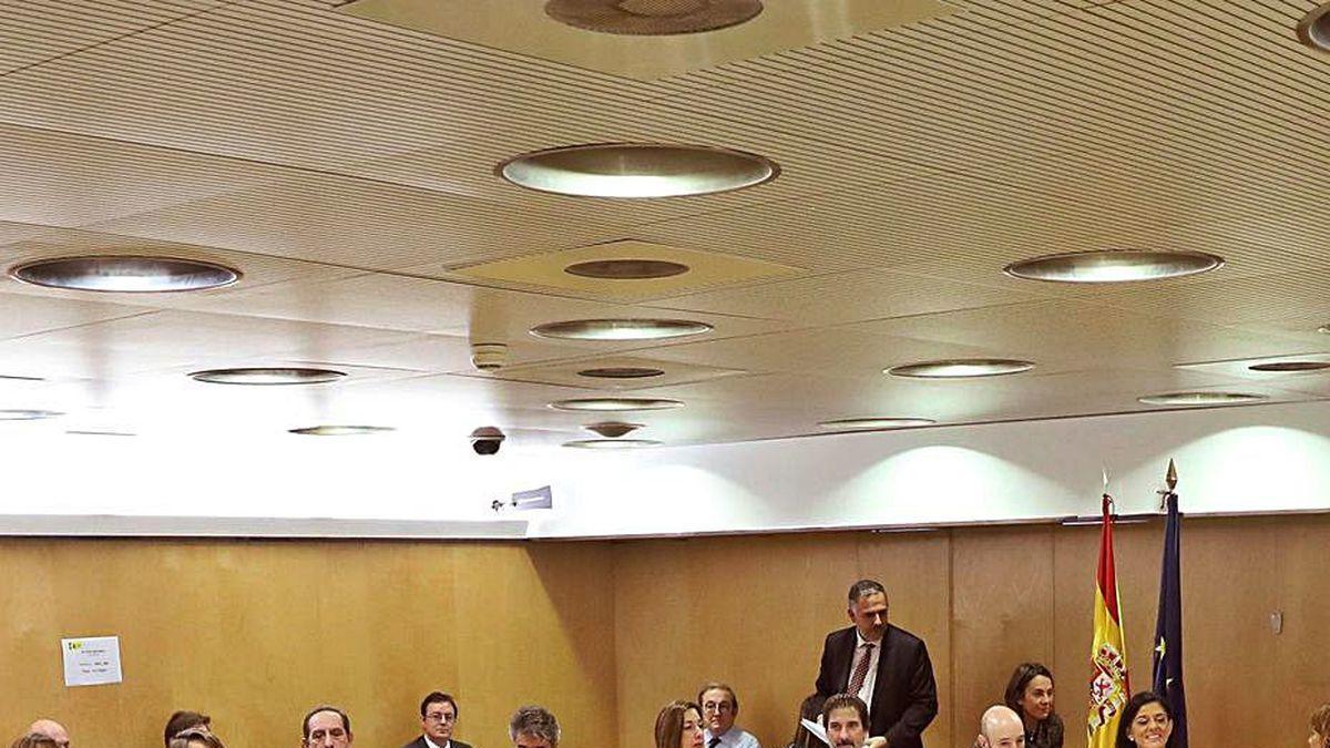 Vista de la reunión del Consejo de Política Fiscal de febrero.