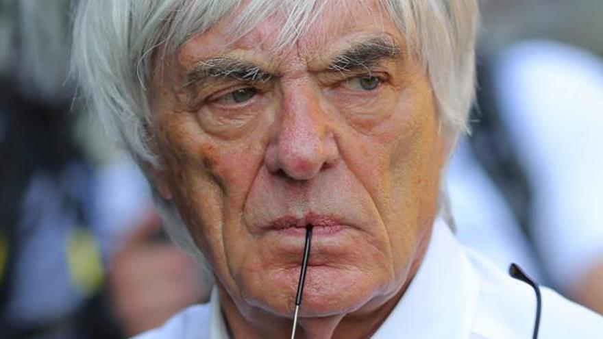 """Ecclestone: """"Yo habría hecho lo mismo que Vettel"""""""
