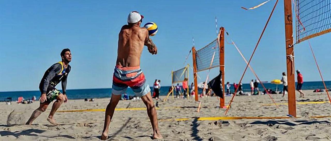 Imagen de un torneo anterior. | MEDITERRANEAN BEACH VOLLEY