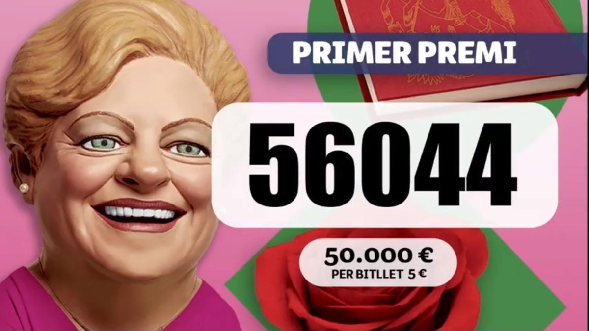 El número que s'ha endut el primer premi  