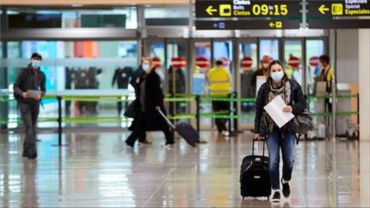 La foto del desastre aéreo por el coronavirus