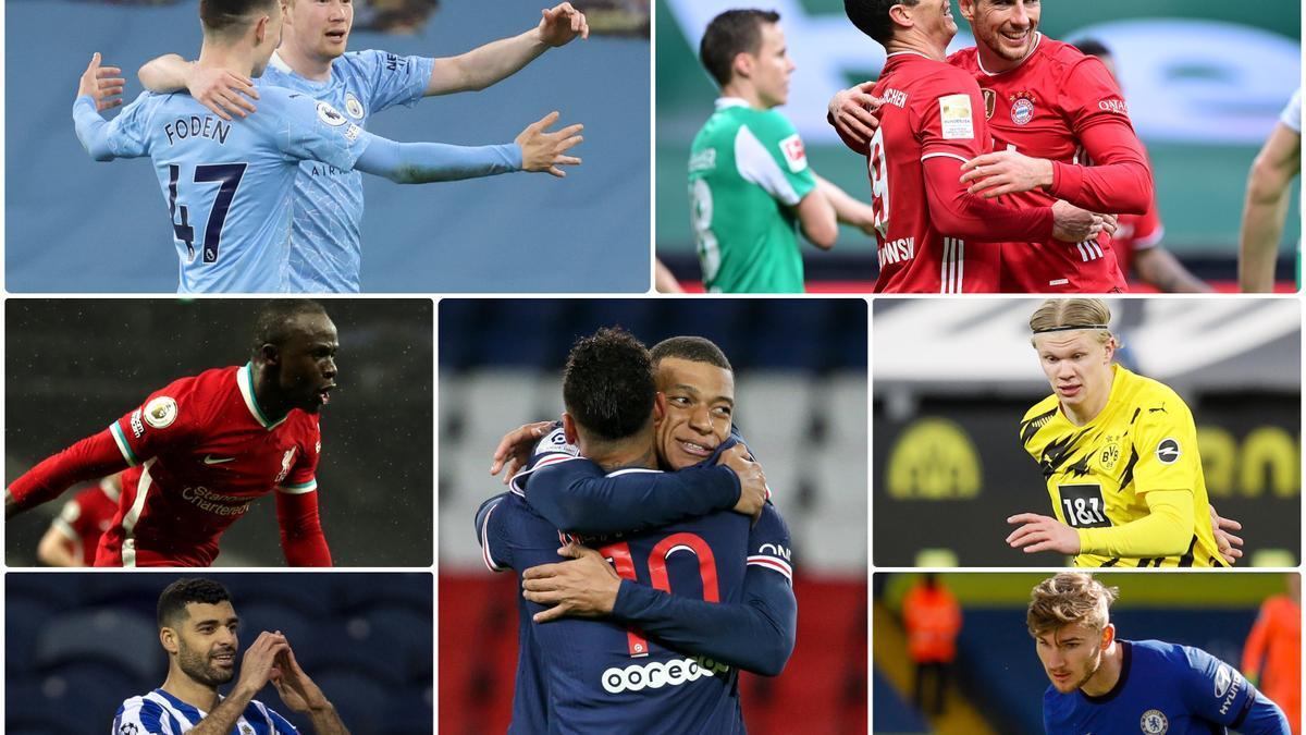 Posibles rivales del Real Madrid en la Champions