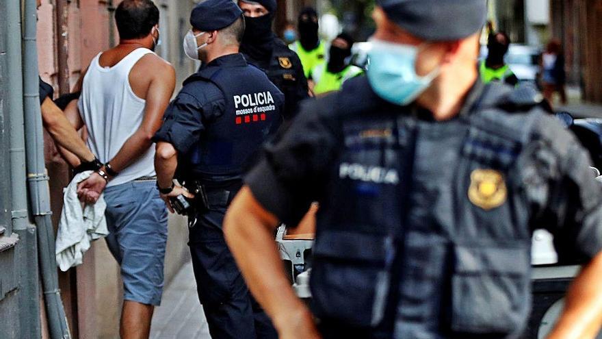 Els gihadistes detinguts  a Barcelona planejaven atemptats no imminents