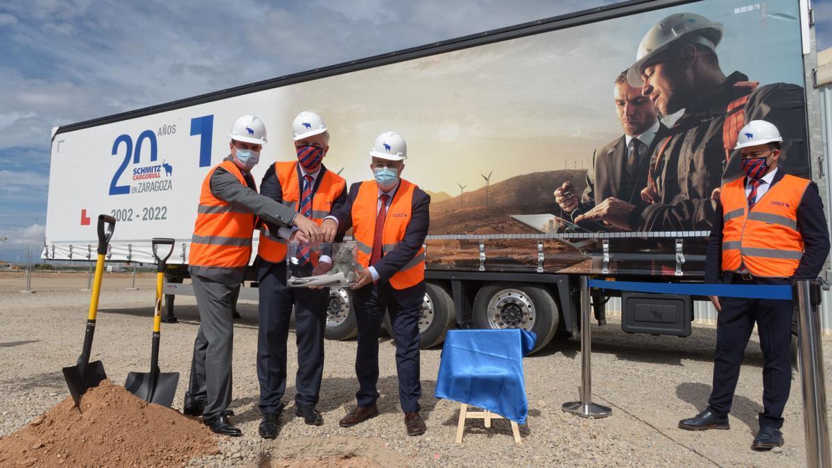 La compañía ha puesto este miércoles la primera piedra de las nuevas instalaciones en Figueruelas.
