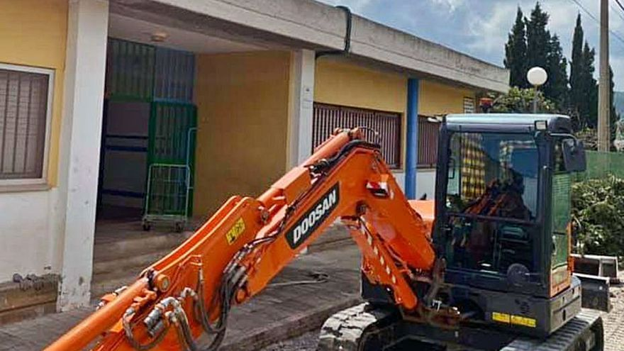 Arrancan las obras del nuevo colegio de Albalat