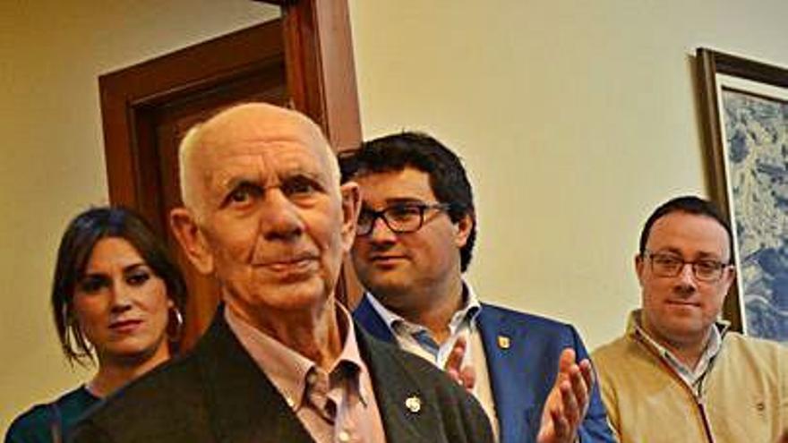 """Luarca llora a Manuel García, """"el de Cruz Roja"""", fallecido a los 88 años"""