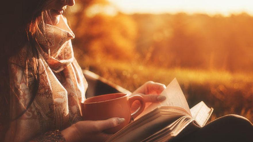 El invierno invita a la lectura.