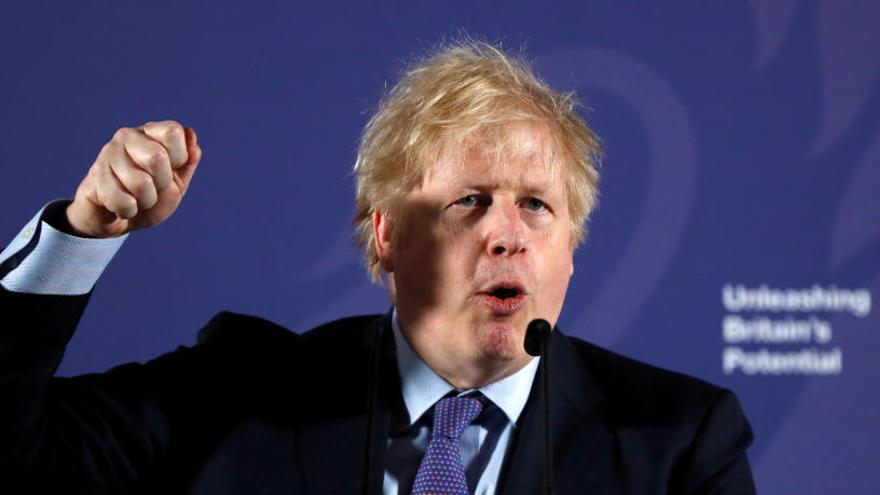 Johnson quiere un pacto sin sumisión a las reglas de la UE