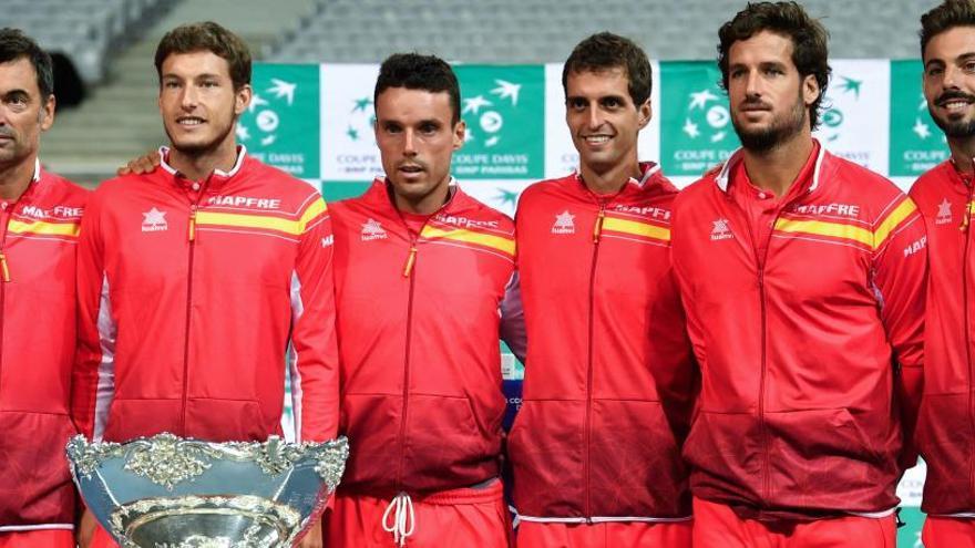 Paire y Carreño abrirán la semifinal de Copa Davis