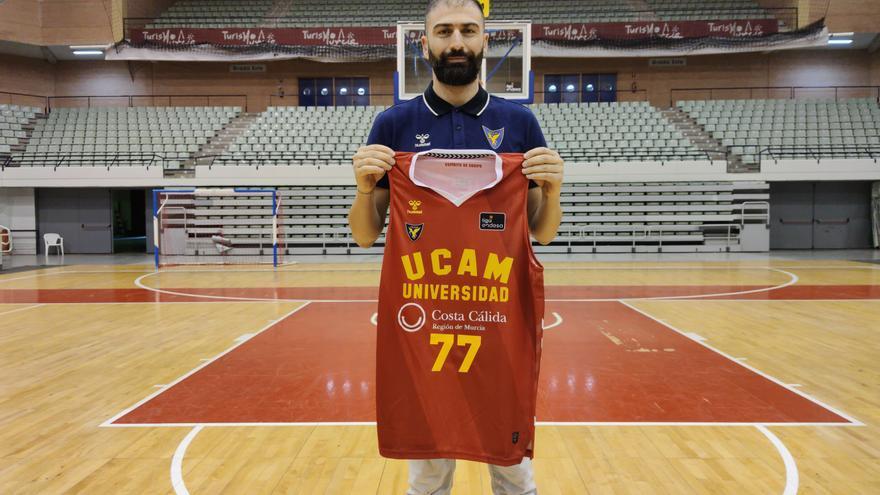 Vasileiadis debutará el miércoles con el UCAM Murcia