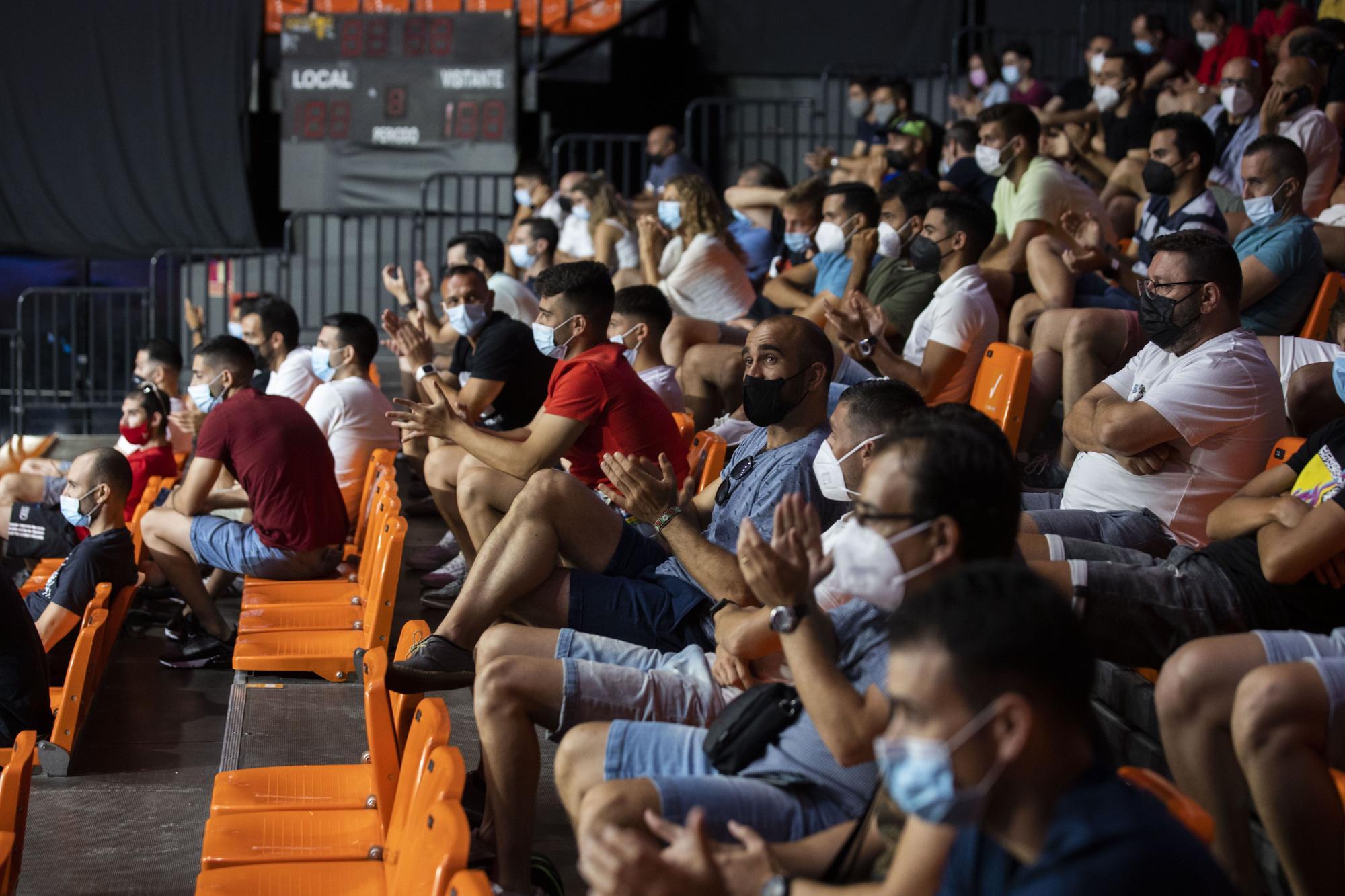 Cuartos de final del Estrella Damm Valencia Open 2021 en el World Padel Tour
