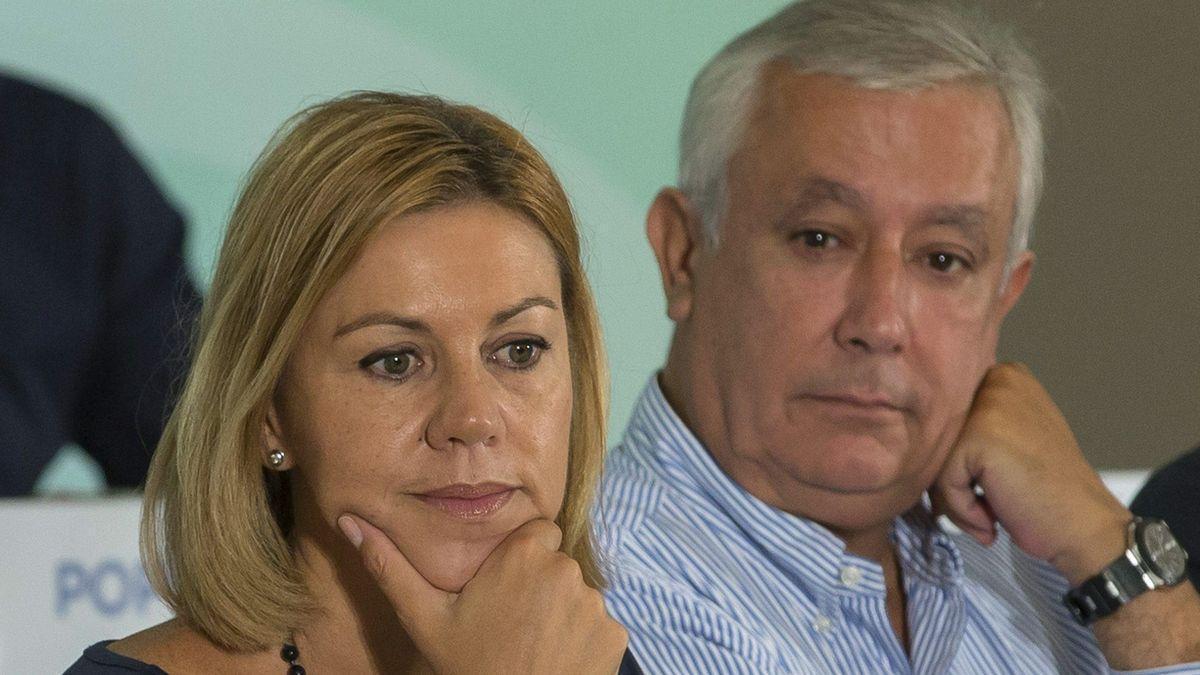 Cospedal, Álvarez Cascos y Arenas declaran este martes en el juicio de la caja b