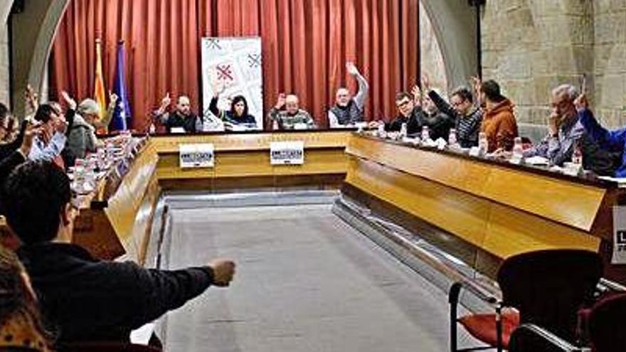El Consell aprova el projecte d'ampliar el dipòsit comarcal