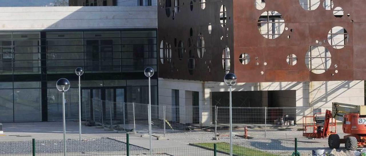 Las instalaciones del centro de discapacitados de Barros.