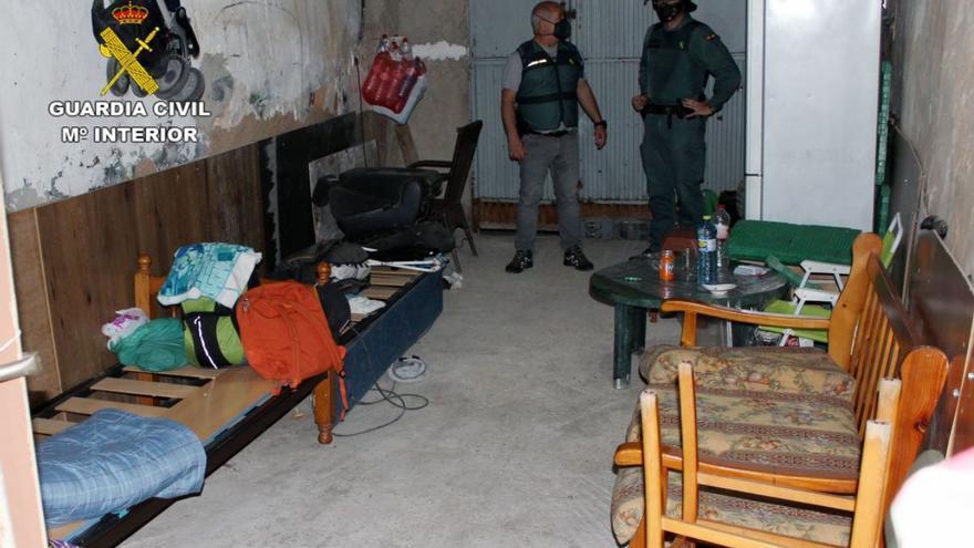 La Guardia Civil detiene a 24 personas en Murcia por favorecer la inmigración ilegal y traficar con drogas