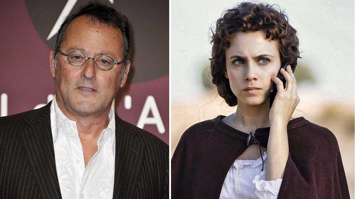 Jean Reno y Aura Garrido.