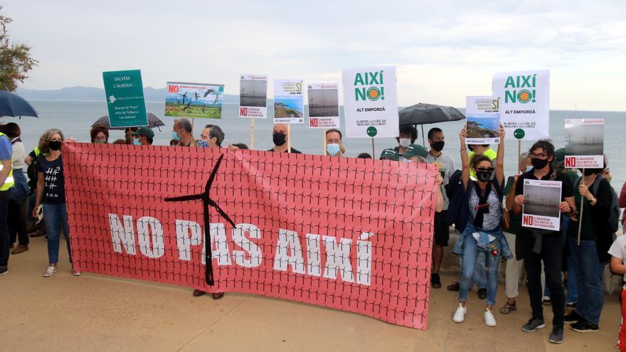 La ponència de renovables desestima el parc eòlic Ventador amb sis molins projectat a Capmany