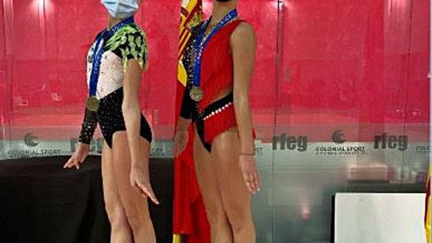 Oro para dos gimnastas del club de Alcàsser