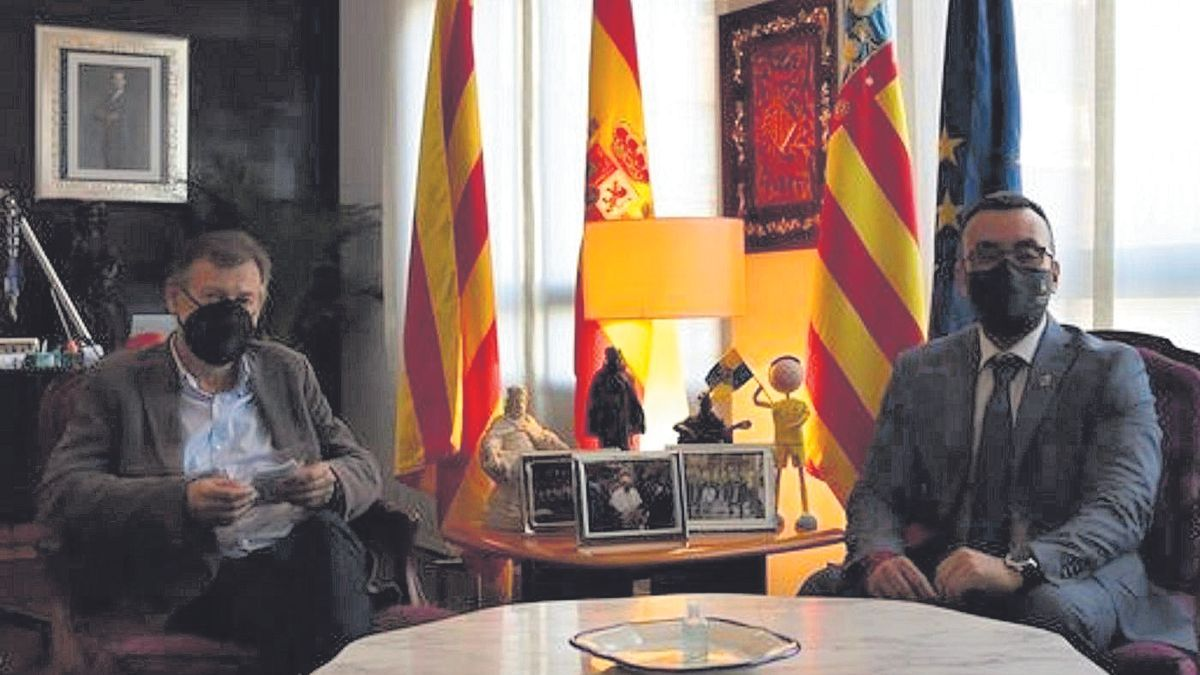El director general de Formación Profesional se reunió con el alcalde de Vila-real para tratar el futuro centro de FP.